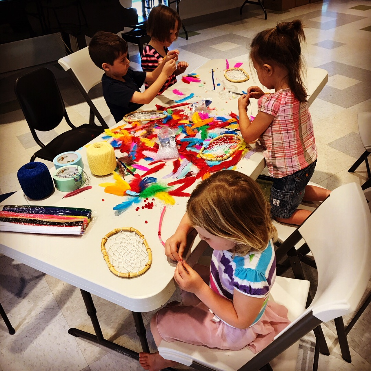 Crafts at GMS Summer Kids Camp