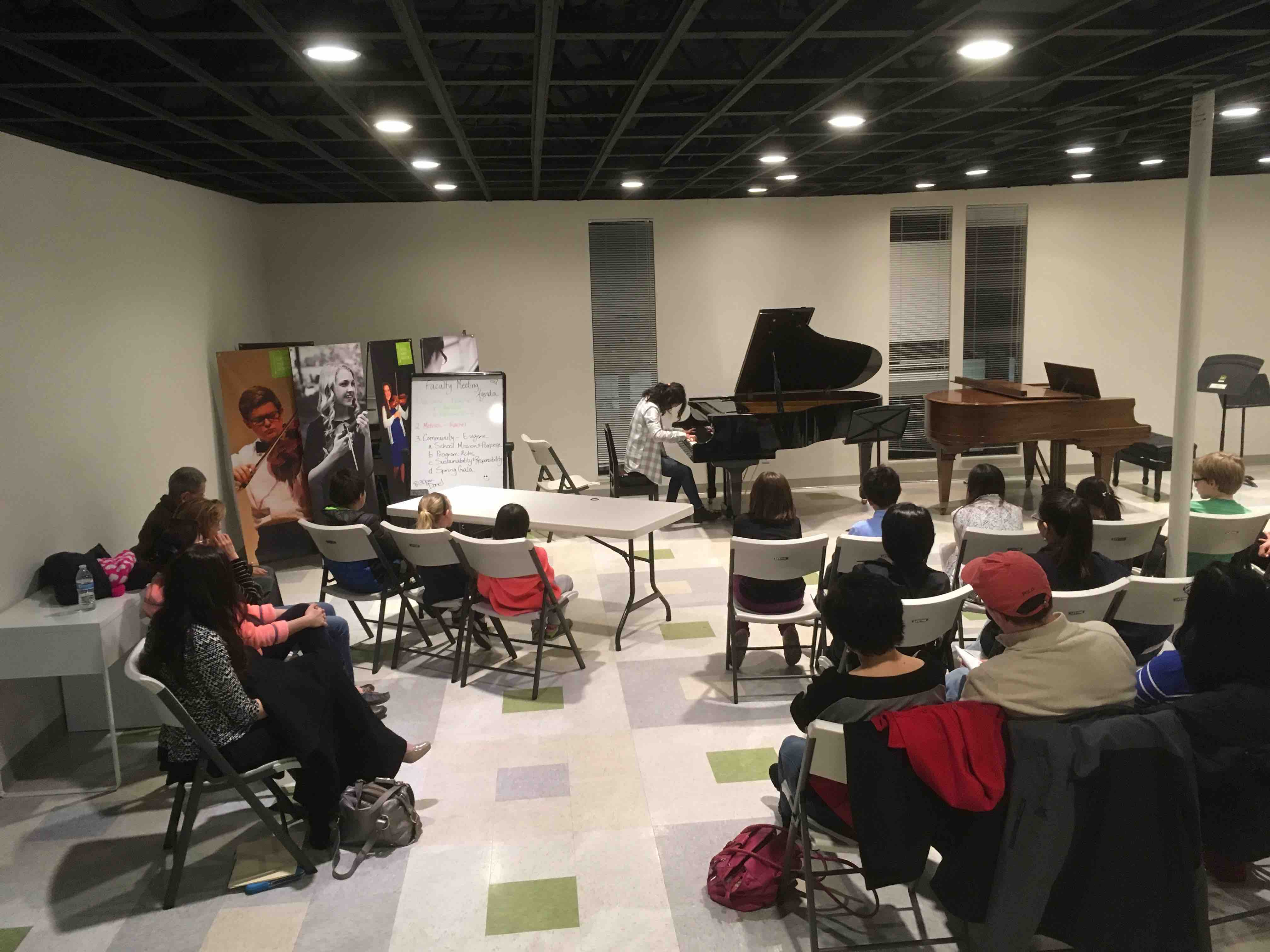 GMSPD Piano performance class